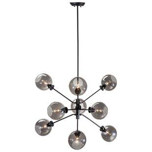 Nuevo Atom 9-Light Sputnik Chandelier