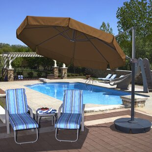 Island Umbrella Freeport 11' Cantilever Sunbrella Umbrella