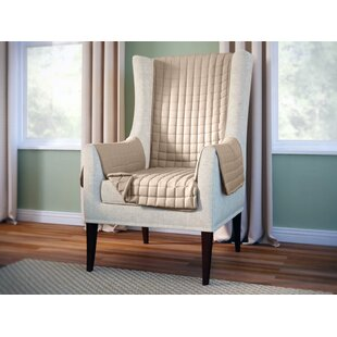 Wayfair Basics Box Cushion Wingback Slipcover
