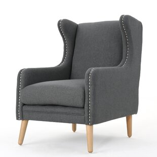 Mercury Row Bouffard Wingback Chair