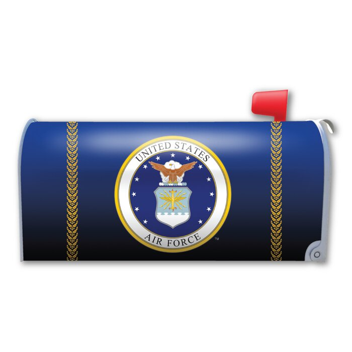 United State Air Force Seal Mailbox Cover