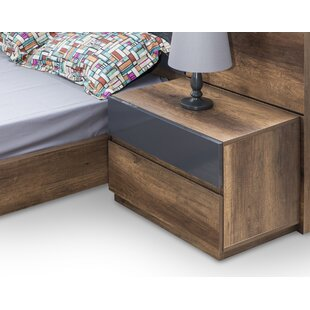 Leflore 2 Drawer Nightstand by Orren Ellis