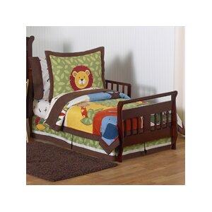 Jungle Time 5 Piece Toddler Bedding Set