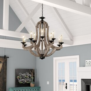 Marcoux 12-Light Empire Chandelier by Laurel Foundry Modern Farmhouse