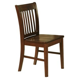 Three Posts Phoenixville Solid Wood Dining Chair (Set of 2)