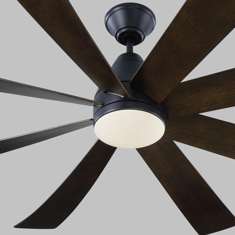 Monte Carlo Fan Company 72 Kingston 8 Blade Led Standard Ceiling Fan With Light Kit Included Reviews Wayfair