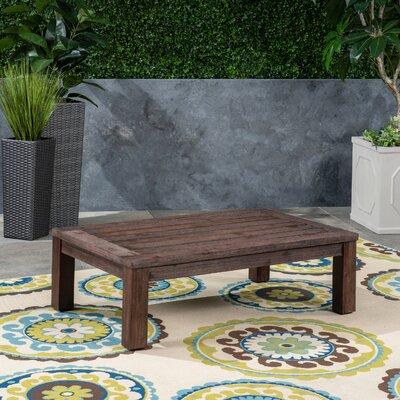 Murdock Solid Wood Coffee Table by Loon Peak Amazing