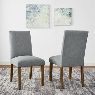 Veazey Upholstered Dining Chair (Set Of 2) by Gracie Oaks Wonderful