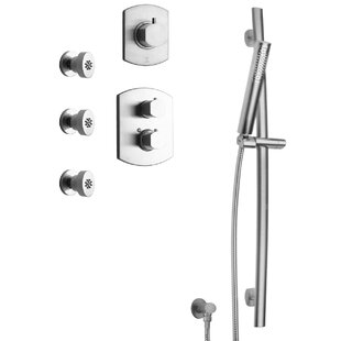 LaToscana Novello Thermostatic Valve Shower System
