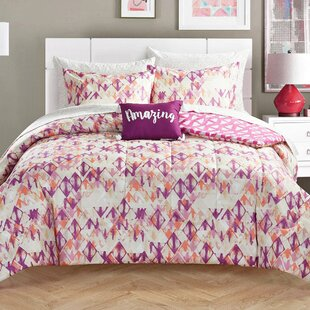 Dorthea Diamond Reversible Comforter Set