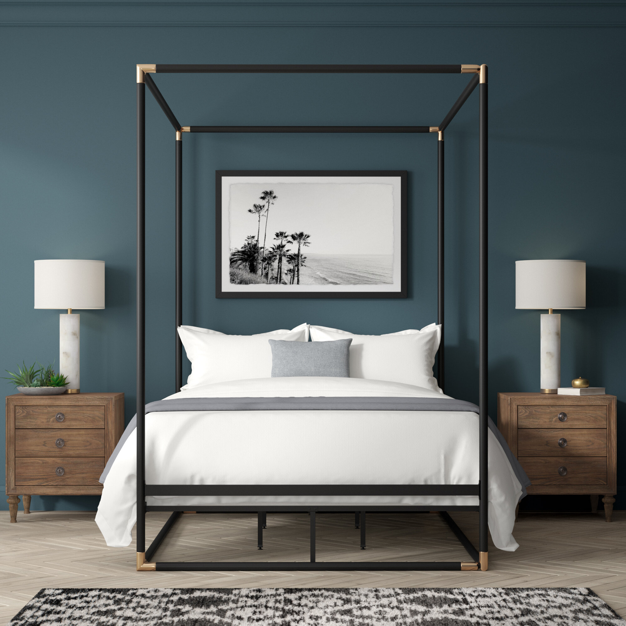 Brass Gold Beds You Ll Love In 2021 Wayfair