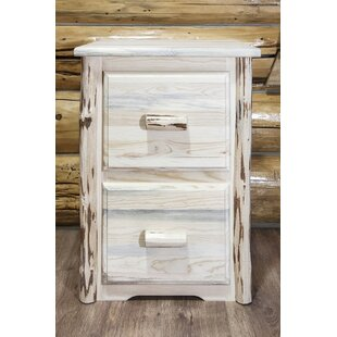 Loon Peak Abordale 2 Drawers File Cabinet