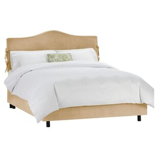 Clarita Upholstered Panel Bed