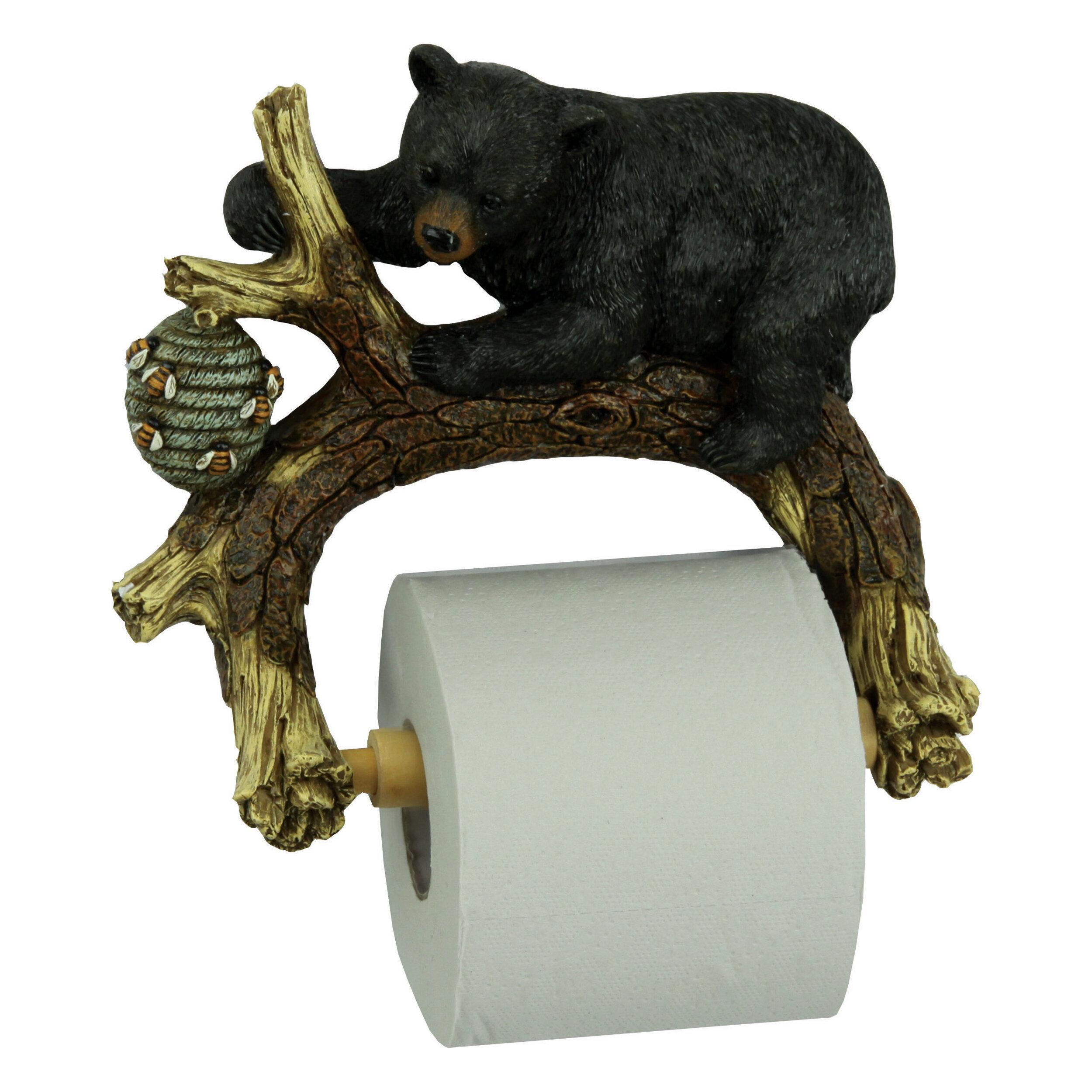 Bronze Rustic Toilet Paper Holders You Ll Love In 2021 Wayfair