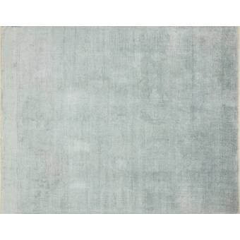 Loloi Rugs Transcend Hand Knotted Graphite Blue Area Rug Wayfair