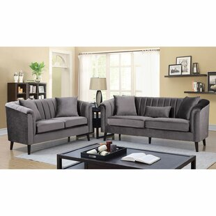 Apodaca 2 Piece Living Room Set by Everly Quinn
