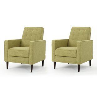 Platt Manual Recliner (Set of 2)