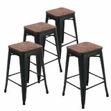 Bednarz 24 Bar Stool (Set of 4) by Williston Forge