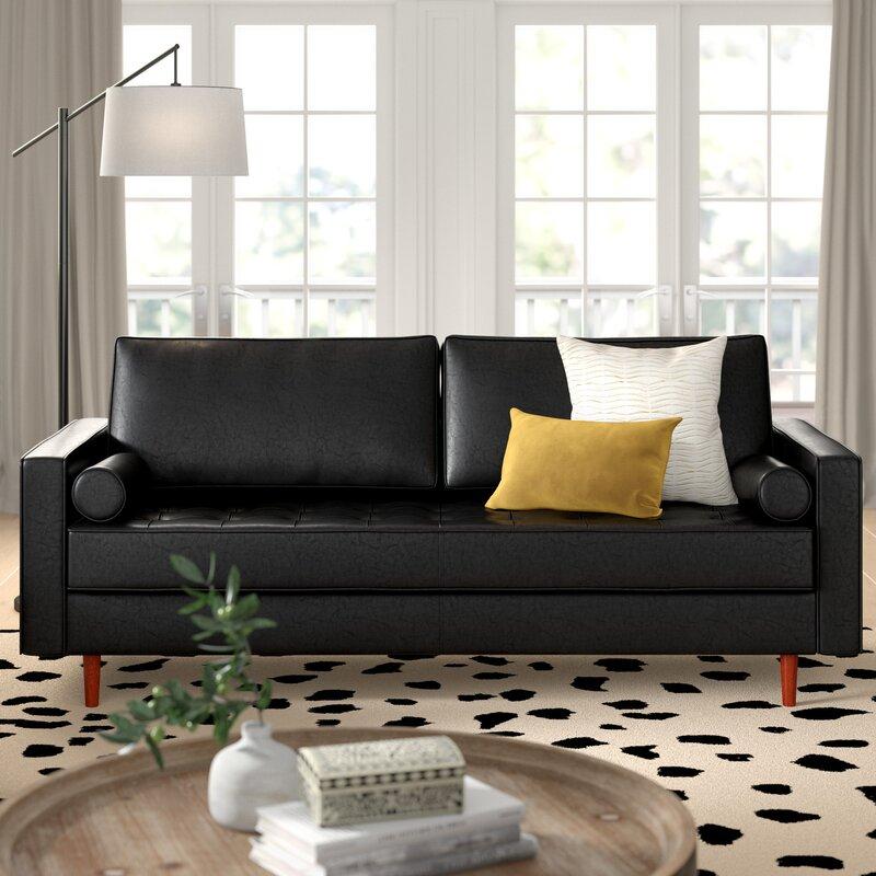 Bombay Leather Sofa Reviews Joss Main