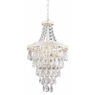 House of Hampton Kist 1-Light Crystal Mini Pendant