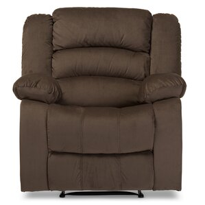 Baxton Studio Manual Lift Assist Recliner by Wholesale Interiors