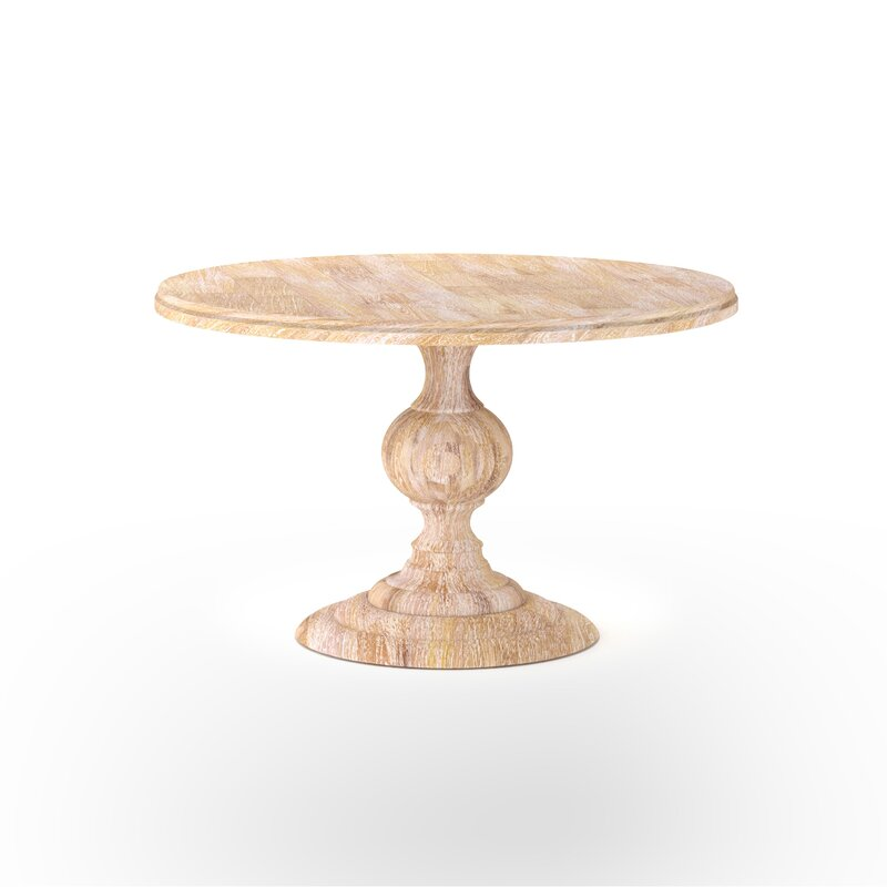 Round Wood Dining Table - Shop the Room! Sarah Richardson's Ontario Living Room