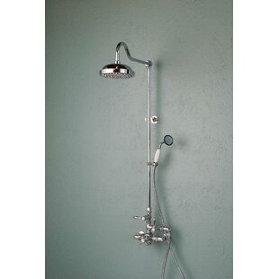 Strom Plumbing by Sign of the Crab Thermostatic Exposed Shower Set with Lever Handle and Rough-in Valve