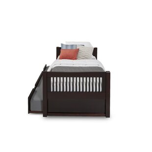Isabelle Twin Platform Bed with Trundle By Viv + Rae