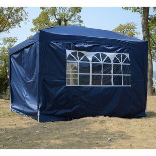 10 Ft. W x 10 Ft. D Steel Pop-Up Party Tent by Outsunny