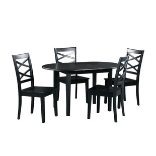 Spillers 5 Piece Extendable Solid Wood Dining Set