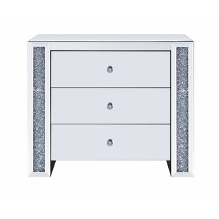 Kiley 3 Drawer Chest by Rosdorf Park
