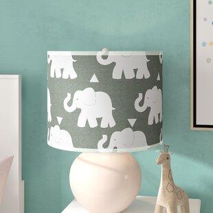 Elephant 43 Drum Lamp Shade
