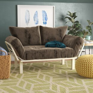 Top Reviews Everett Convertible Lounger Futon and Mattress by Ebern Designs Reviews (2019) & Buyer's Guide