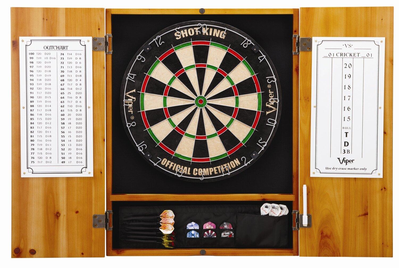 dart board cabinets