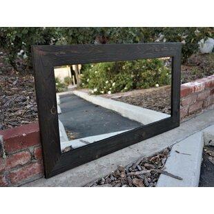 Gracie Oaks Pigott Wooden Accent Mirror