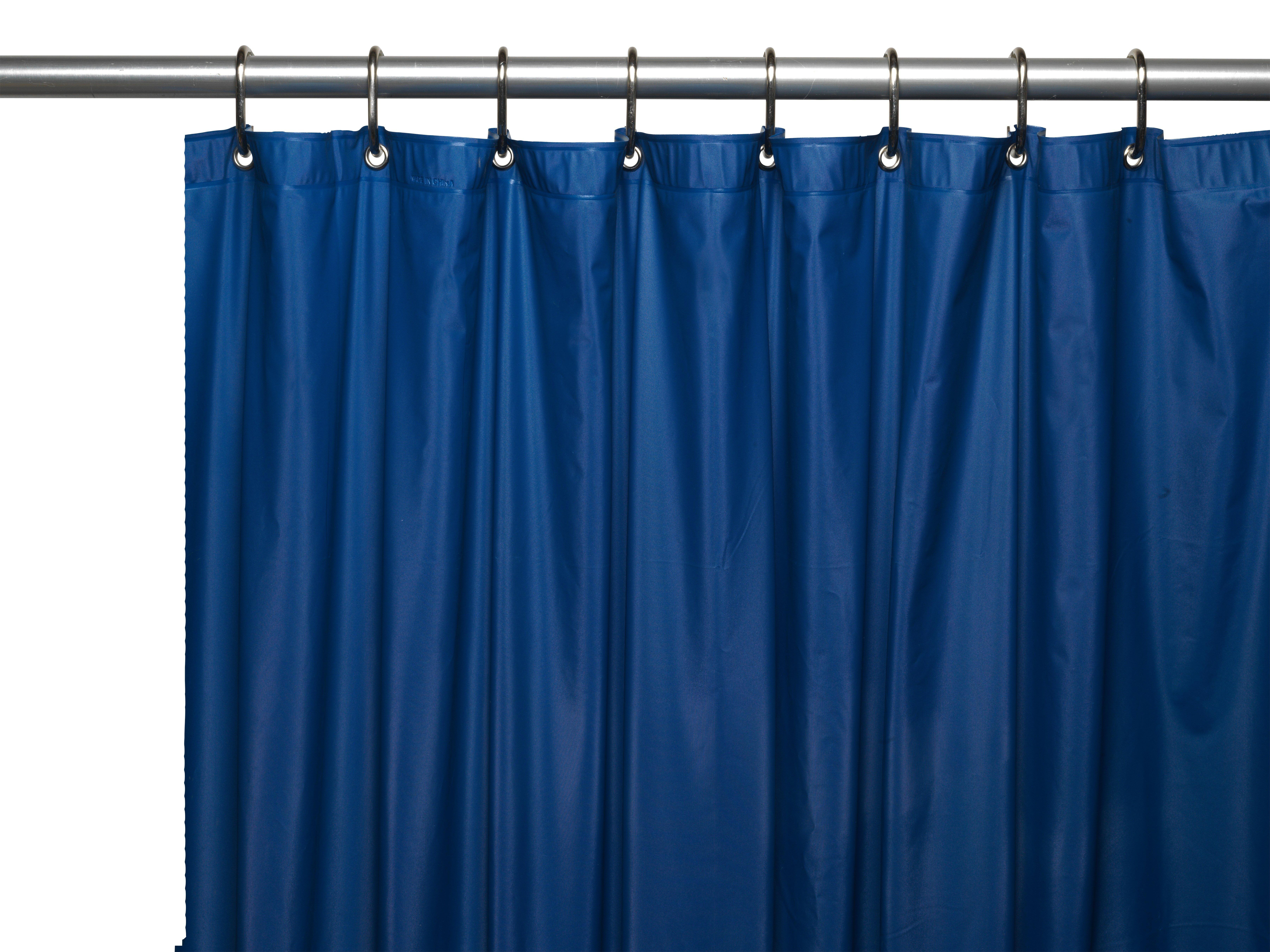 Ben And Jonah Hotel 8 Gauge Vinyl Shower Curtain Liner With Metal Grommets