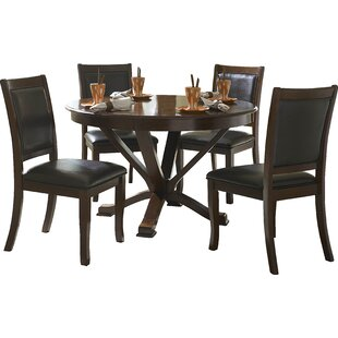 William 5 Piece Dining Set Latitude Run