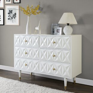 Morley 6 Drawers Double Dresser by Everly Quinn