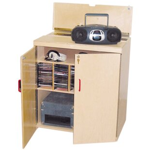 Lock-It-Up Center Audio Cabinet