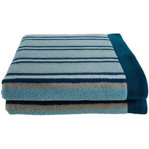 Stripes Bath Sheet (Set of 2)