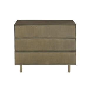 Profile 3 Drawer Bachelor's Chest by Bernhardt