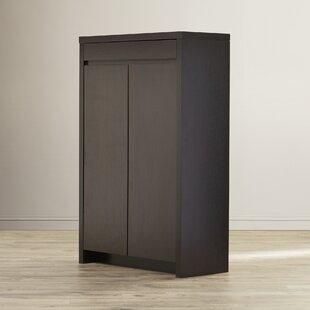 Shop For 15-Pair Shoe Storage Cabinet By Rebrilliant