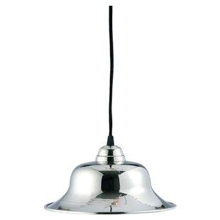 BIDKhome 1-Light Bell Pendant