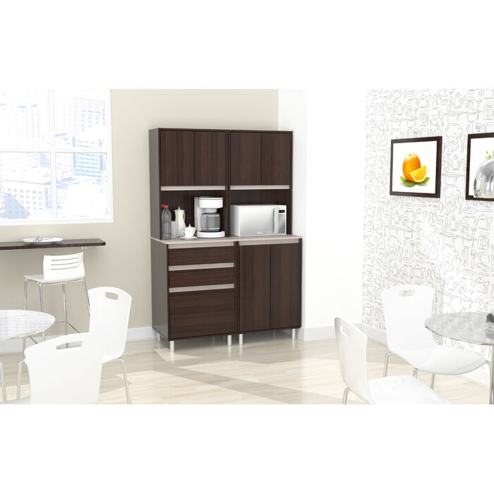 Suniga 2 Piece Breakroom Kitchen Pantry