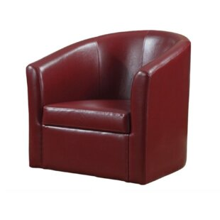 Find for Chayne Swivel Barrel Chair By Red Barrel Studio