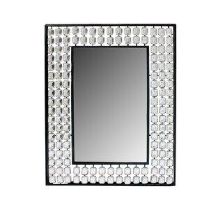 House of Hampton Kozlowski Metal Wall Mounted Accent Mirror