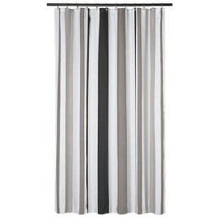 Driftwood Stripes Single Shower Curtain