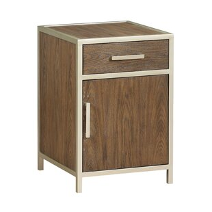 Alessio 1 Door Accent Cabinet by Mercer41