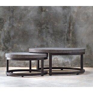 Violetta 2 Piece Nesting Tables by 17 Sto..