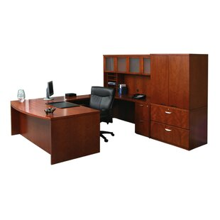 Mira Series U-Shape Executive Desk with Hutch